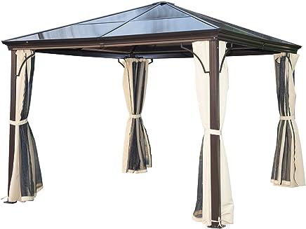 Relativ Suchergebnis auf Amazon.de für: pavillon mit festem dach: Garten WR04