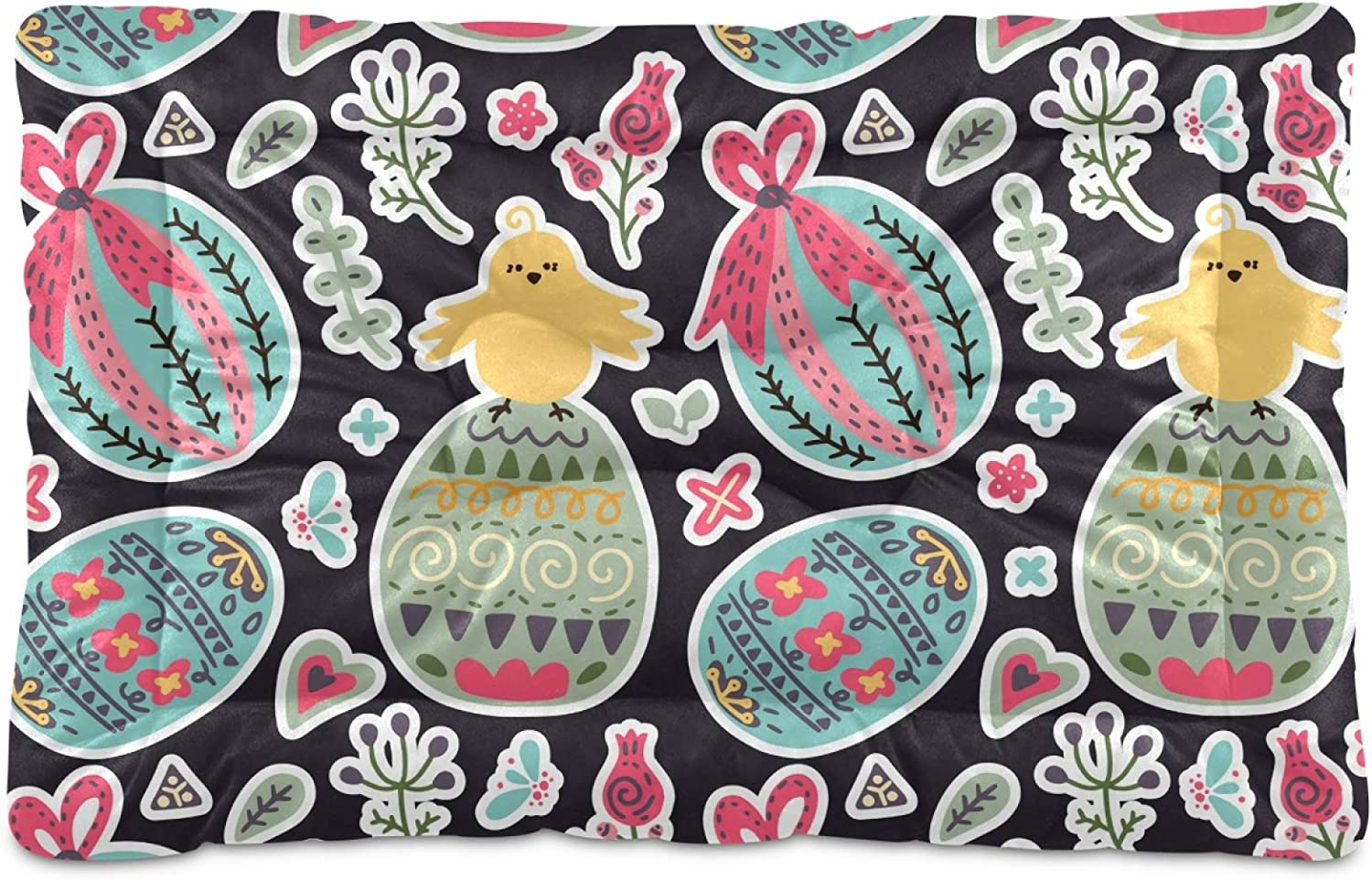 Japan's largest assortment Ultra Soft Pet Bed Mat Easter Cute Popular product Eggs Chicks and Short Fluff?C