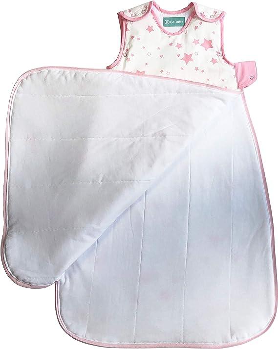 Saco de dormir para bebés de tog 1,0 Be Babe | 0-6 meses | Saco de dormir para recién nacidos, bebé niñas | Doble cremallera | Mantas envolventes para ...