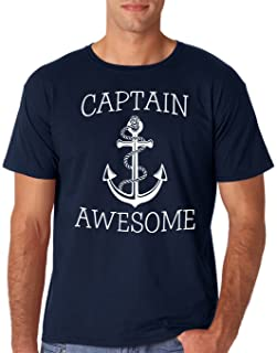 Best AW Fashions Captain Awesome - Fishing Boat Cool Fisherman Sailing Men