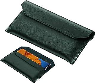 Wuzixi Case for Realme Narzo 20A, premium leather magnetic flip cover case, suitable for Realme Narzo 20A.Green