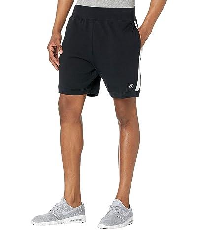Nike SB SB Y2K Fleece Shorts (Black/White/White) Men