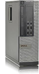 Dell Optiplex 7010 SFF Desktop Business Computer PC (Intel Quad-Core i5-3470 3.2GHz, 8GB DDR3 Memory, 2TB HDD, DVDRW, Windows 10 Professional) (Renewed)