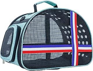 Pet Supplies Out Portable Pet Bag Travel Cat Bag Porous Portable Pet Bag Handbag Shoulder Breathable Easy to Carry (Color : Bronze)
