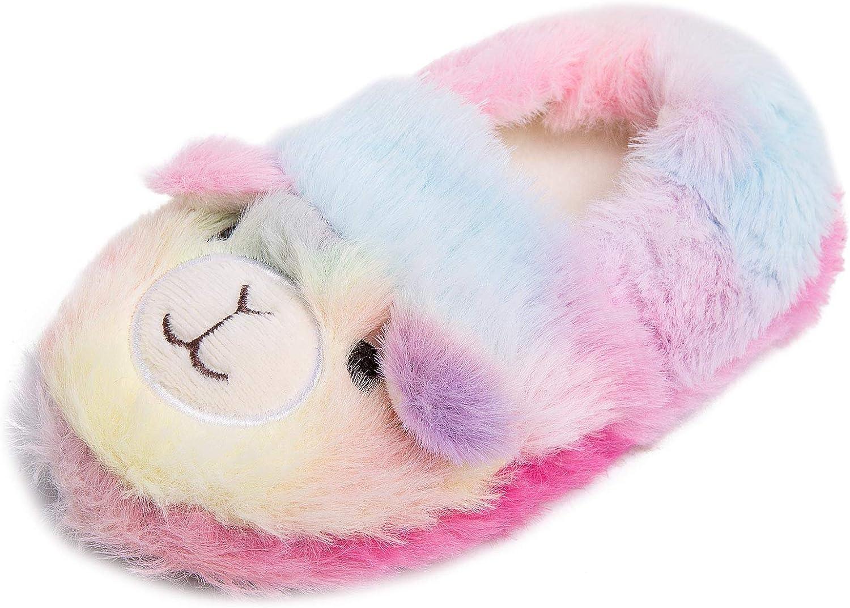 Toddler Boys Girls Fuzzy Slippers Cartoon Unicorn Kansas Trust City Mall Dino Cute Kids