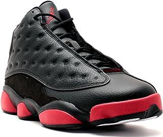 d664704de687b9 Jordan Air 13 Retro Men s Shoes Black Gym Red-Black 414571-003