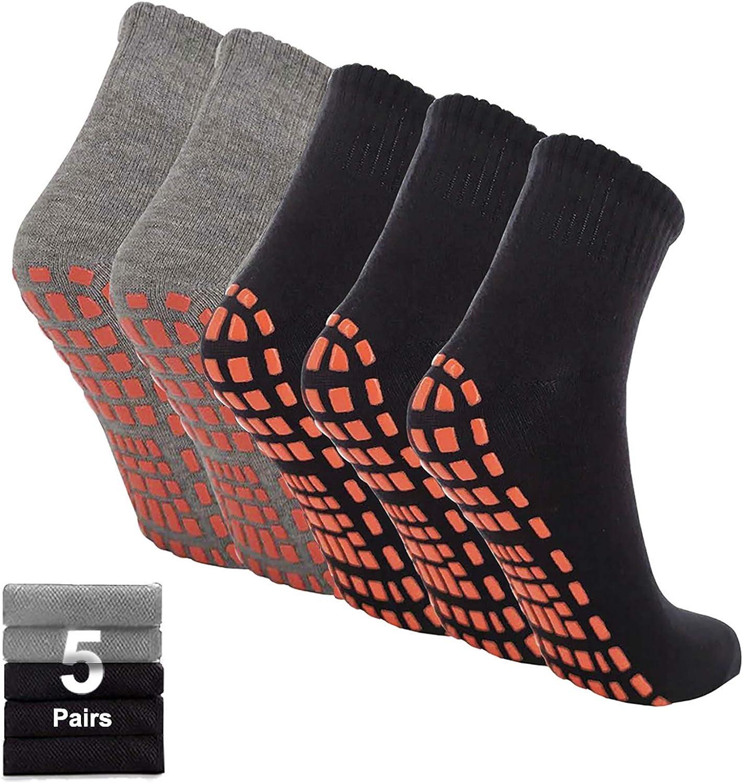 iArtker Non Slip Grip Selling rankings Socks for Pilates Men Max 46% OFF Yoga Hospital Women