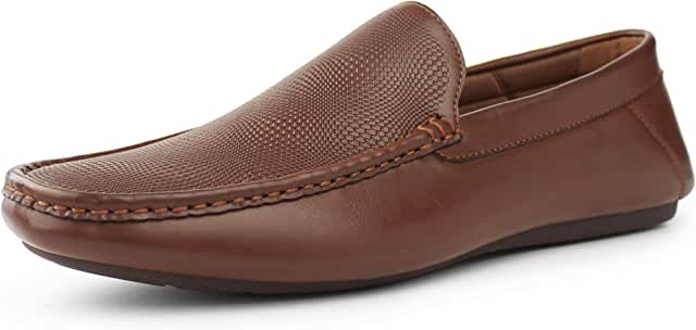 Men's Casual Slip-on Loafer Dress Shoes Moccasin Driving Shoes