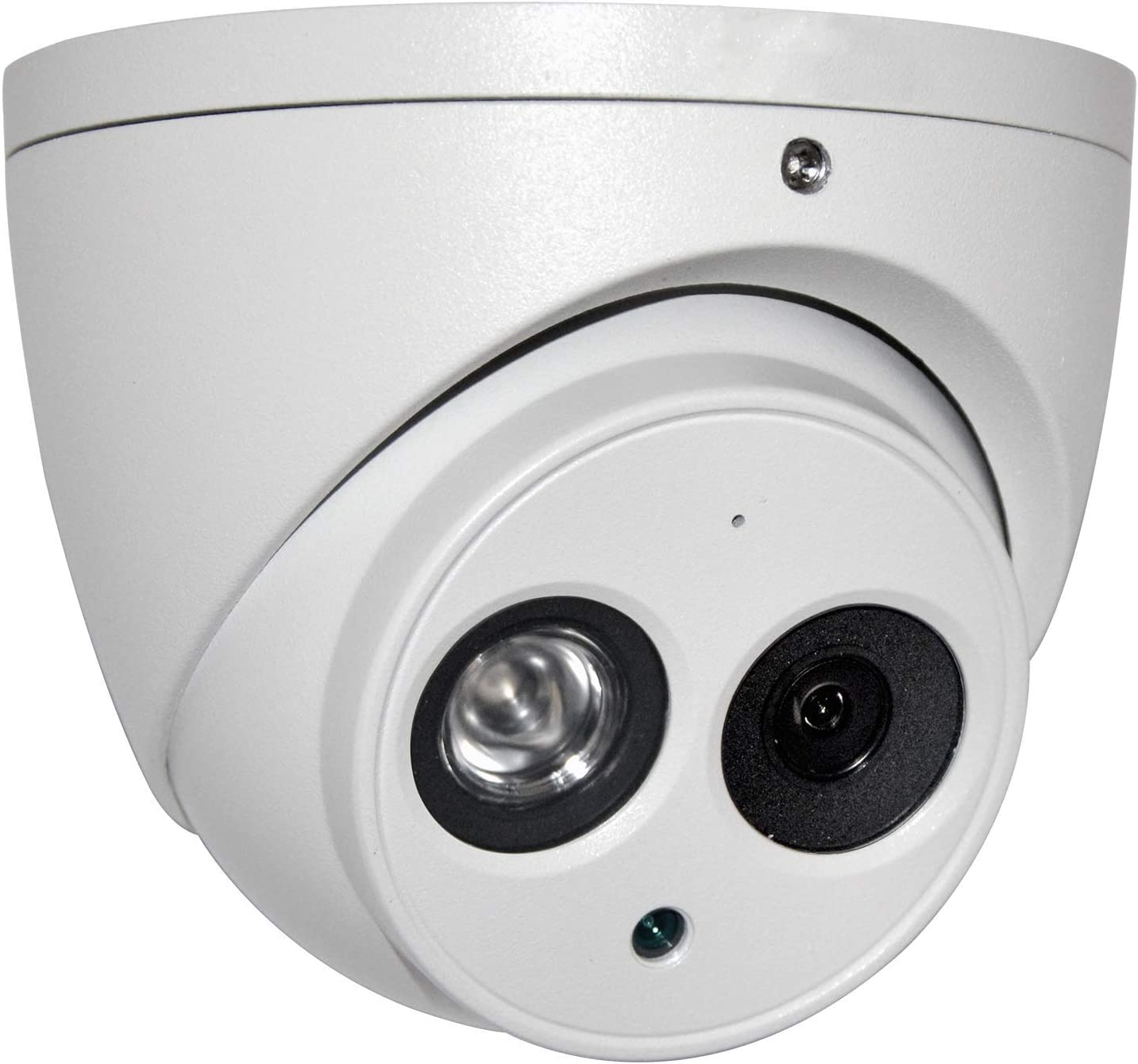 6MP PoE Outdoor IP Camera - OEM IPC-HDW4631C-A 2.8mm Dome Security Camera with 164ft IR Night Vision, Built-in Mic, H.265+, WDR, 3D DNR, IP67 Waterproof