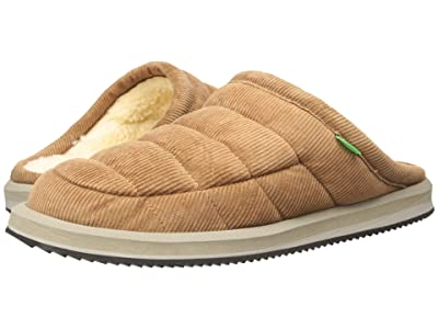 Sanuk Puff N Chill Low Cord (Tan) Men