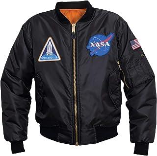 Rothco NASA MA-1 Flight Jacket - Black