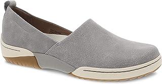 Dansko Women's Reba Grey Vintage Slip On Sneaker 7.5-8 M US