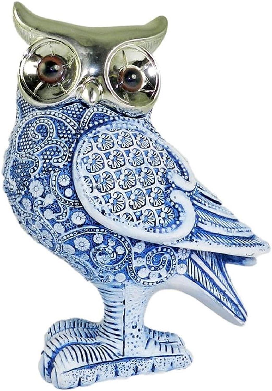 Essential Decor & Beyond EN70352 9 Inch Resin Owl