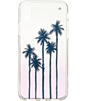 Kate Spade New York - Palm Tree Ombre Phone Case for iPhone X