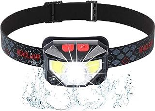 AOYATE LEDヘッドライト USB充電式 センサー機能 角度調整可 IPX45防水 超軽量 防災 登山 夜釣り 作業 アウトドア用 PSE認証済み