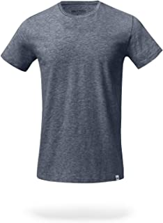 Men's Mega Soft Tagless Crew Neck T-Shirt (Single Pack)