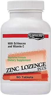 Landau Zinc Lozenge with Echinacea and Vitamin C, Orange Flavor (90)