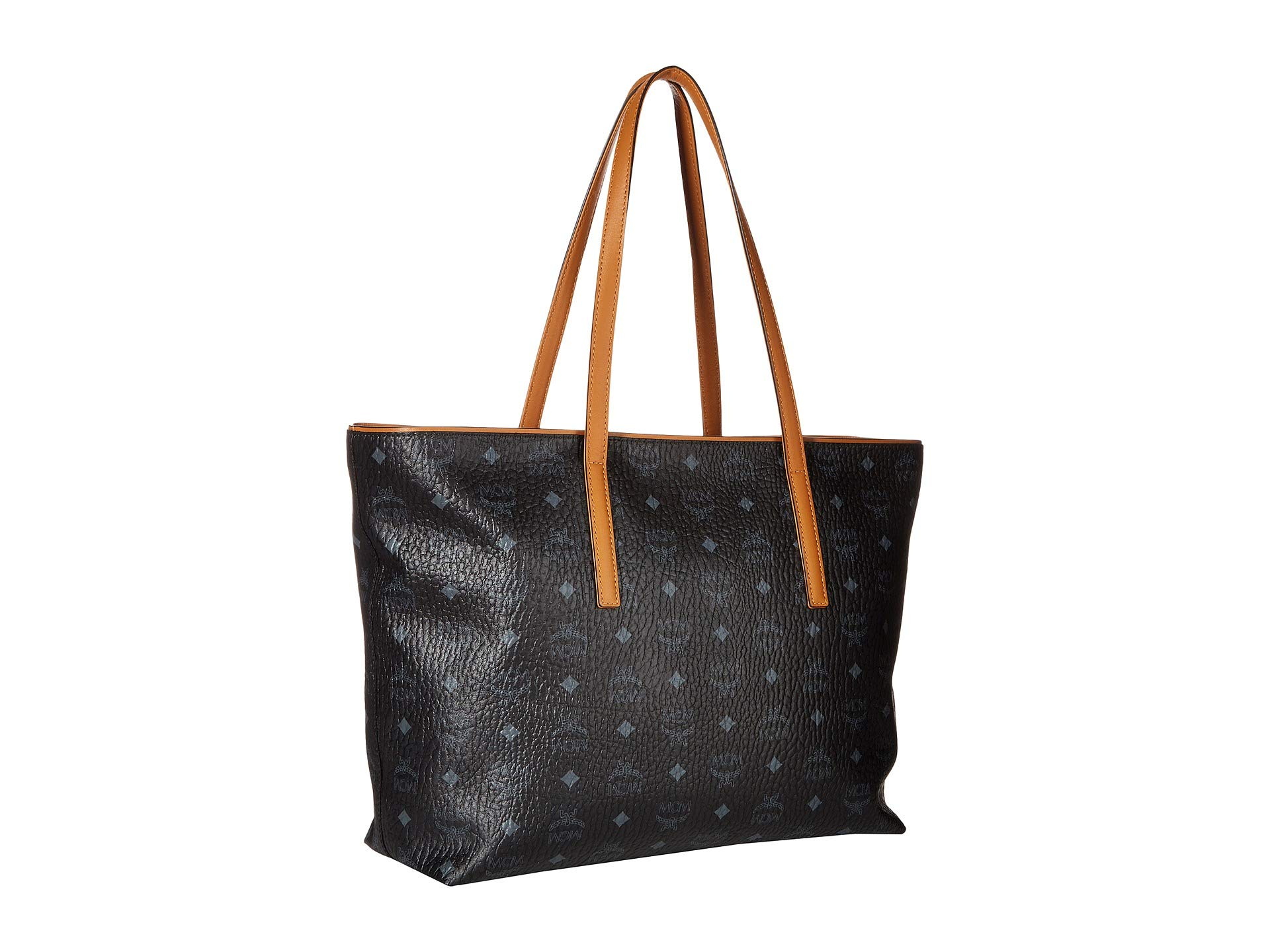 Medium Anya Shopper Medium Mcm Mcm Shopper Anya Black Black pw6qRvxnp