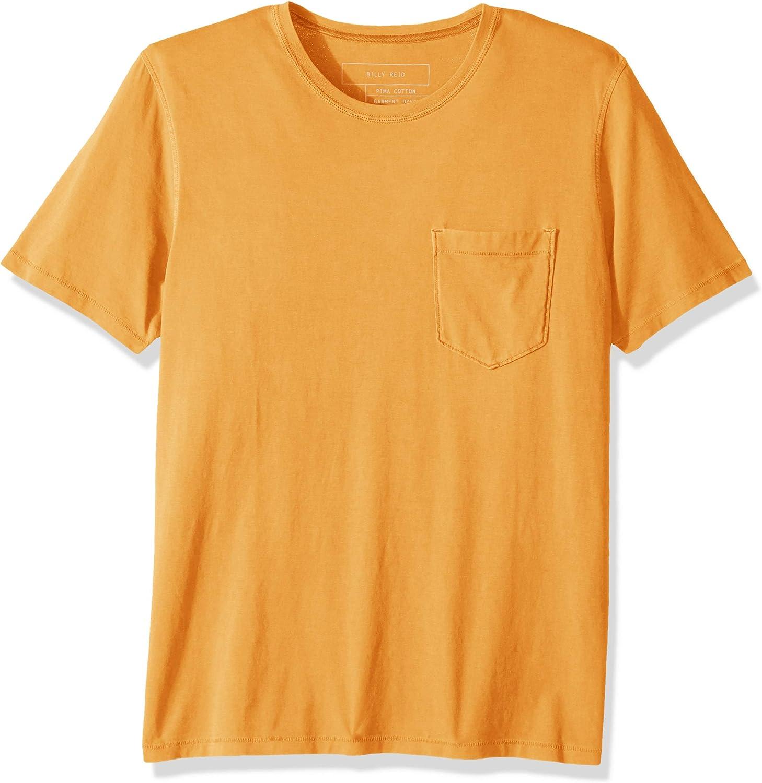 Billy Our shop most popular Reid Men's Washed Pocket T-Shirt 2021 model