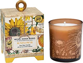 Michel Design Works 6.5 oz Soy Wax Candle, Sunflower