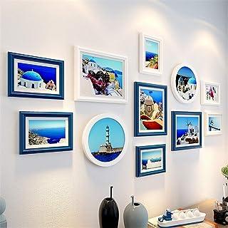Ouqian Marco del Collage Fondo de la Pared Photo Dormitorio Marco Fotos de Habitaciones Combinación decoración de la Pared...