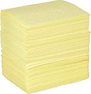 Sorbent Products Company BPH200 Brady SPC Basic Chemical Absorbent Pads, Light Weight, 34 gal Absorbency, 0.25