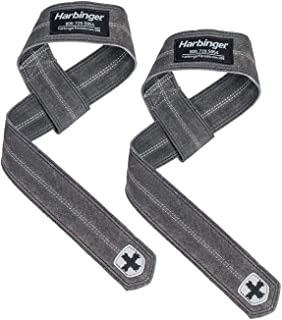Harbinger DuraHide Real Leather Lifting Straps