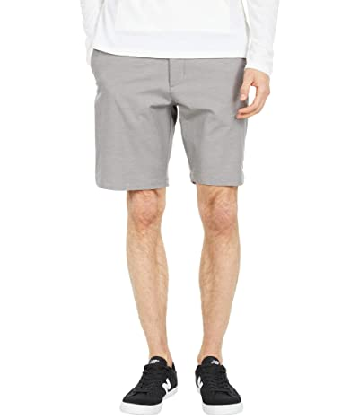 RVCA Back in Hybrid Shorts (Athletic Heather) Men