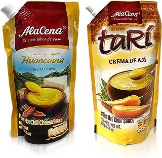 Alacena Crema Huancaina & Crema de Ají Tari Sauce Combo pack 400 G/Each