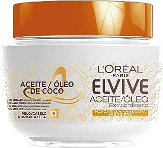 Elvive Aceite Extraordinario Mascarilla Aceite Coco 300 Ml