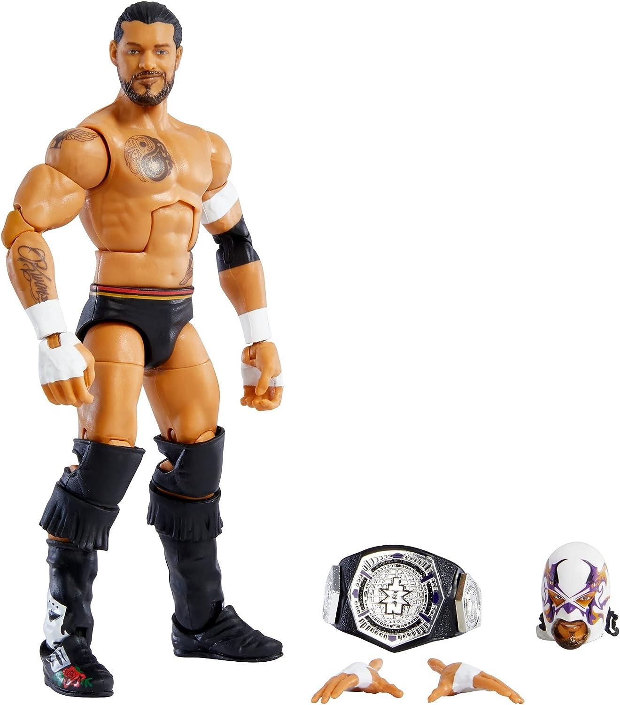 WWE Santos Escobar Elite Collection Series 87 Action Figure 6 in Posable...
