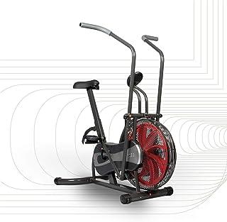 SportPlus Fan Bike, Assault Air Bike, Cyclette con Resistenza ad Aria e Freno Cinghia, Bici con Turbina Eolica, Allenament...
