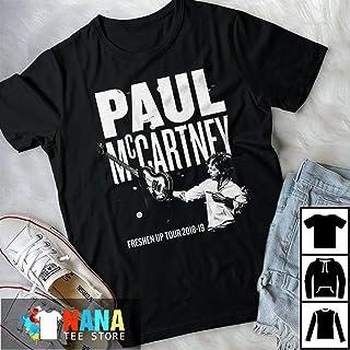 Paul Mccartney Freshen Up Tour 2018 2019 T-Shirt Long T-Shirt Sweatshirt Hoodie