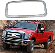 YOUNGERCAR Grill Cover for 2011-2016 Ford F-250 F-350 F-450 F-550 Super Duty Front Bumper Hood Grill Cover Chrome 4pcs - Cover Only