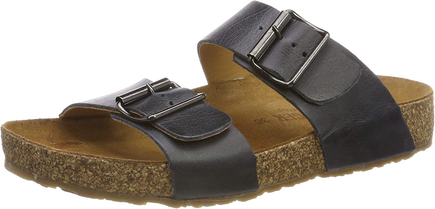 Haflinger Unisex Adults' Andrea T-Bar Sandals