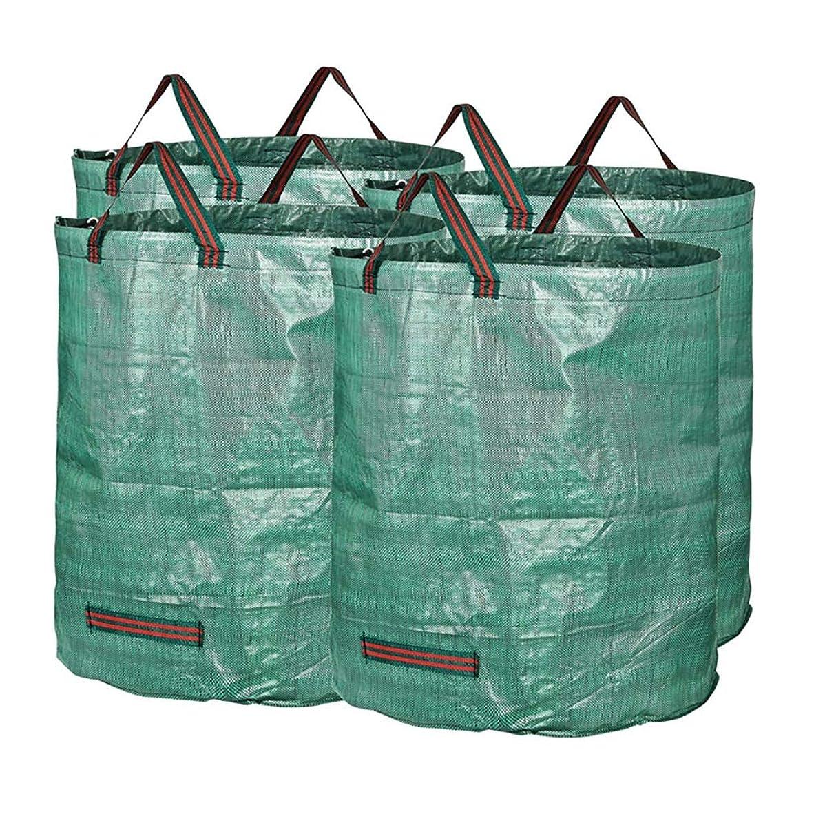 解決傾向ブリリアント庭のゴミ袋、庭のゴミの草植物の花の貯蔵のきちんとしたバケツ(240L H80 cm、D47 cm) (サイズ さいず : 4 bags)
