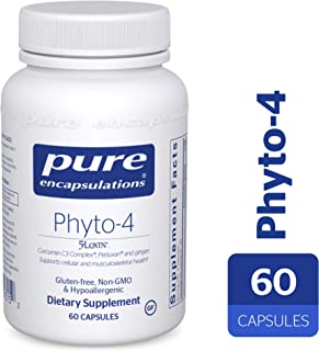 Pure Encapsulations - Phyto-4 - Hypoallergenic Supplement Supports Immune, Cellular and Tissue Health* - 60 Capsules