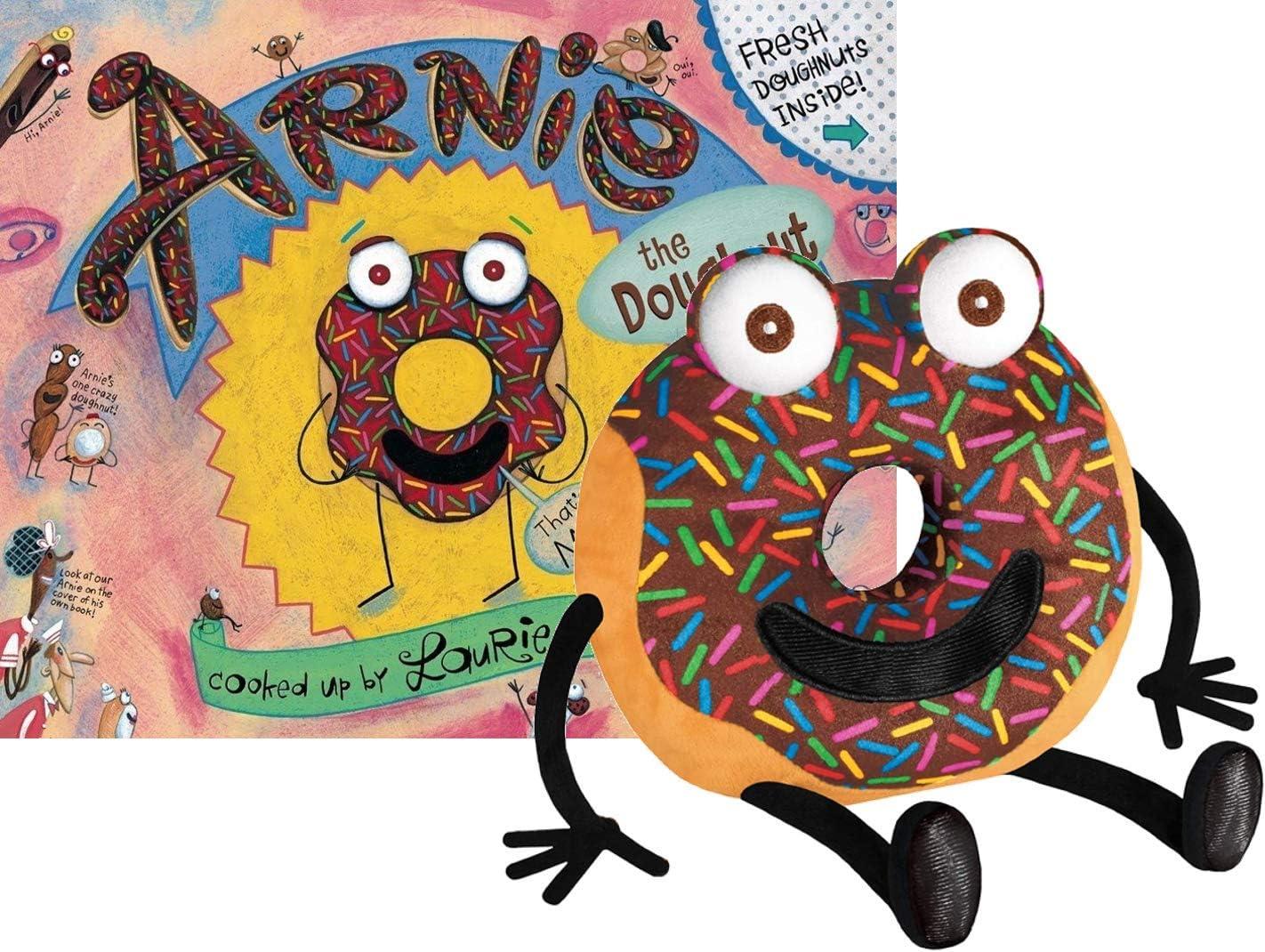 正規取扱店 YOTTOY デポー Plush Book Gift Arnie Set Doughnut The