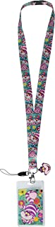 Disney 25322 Alice in Wonderland Cheshire Cat Lanyard, One Size, Multicolor