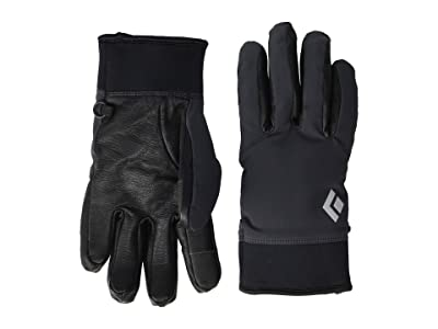Black Diamond HeavyWeight Softshell Gloves (Smoke) Extreme Cold Weather Gloves