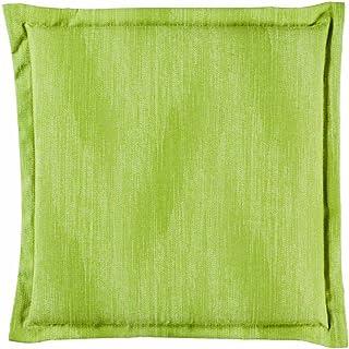 BEST 04441477 - Cojín Decorativo, Color Verde, 46 x 46 x 5 cm