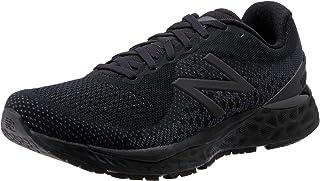 New Balance Fresh Foam Women's Running Shoes, Black with Black Caviar, 8.5 US