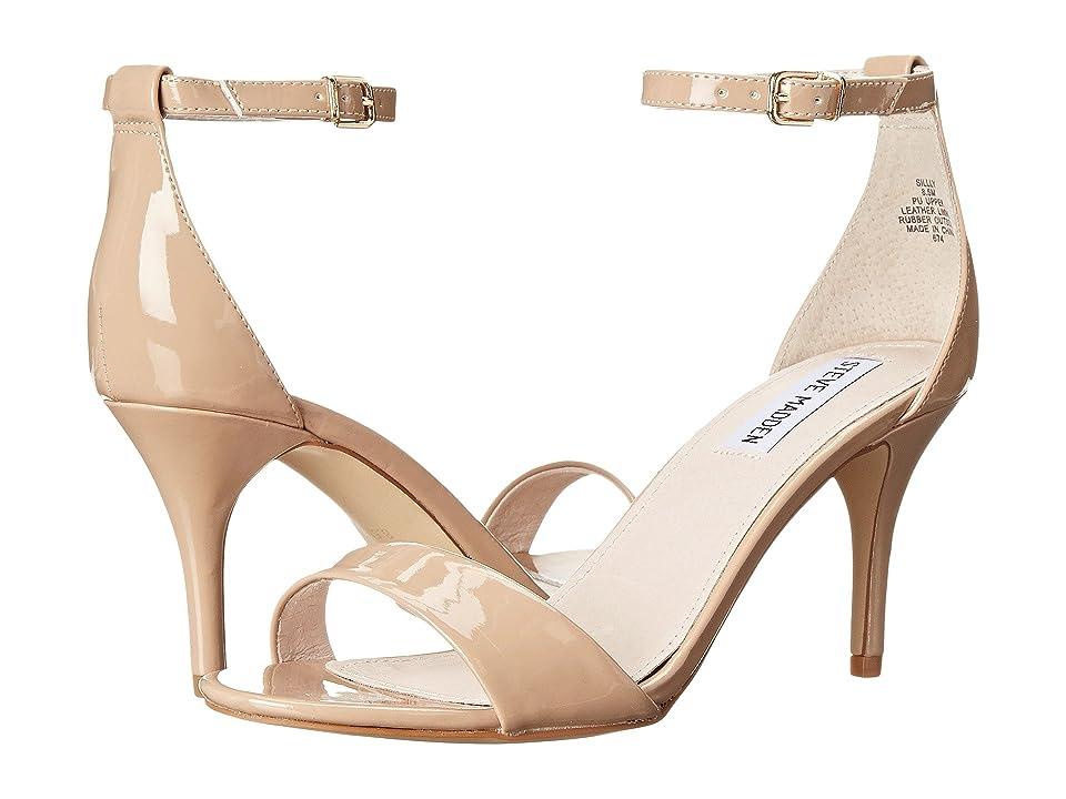 Steve Madden Exclusive Sillly Sandal (Blush Patent) High Heels