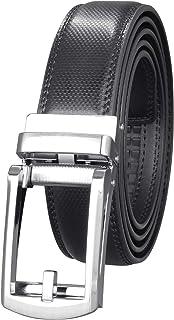 MACBELT 【正規品】ベルト 本革 メンズ オートロック 穴なし 無段階 大きいサイズ 箱&説明書付 3cm幅 130cm