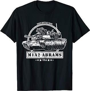 M1A2 Abrams Tank T-Shirt - US Army Tank Shirt