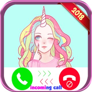 Instant Real Live Voice Fake Call From Unicorn Girls - Free Fake Phone Calls ID PRO 2018 - PRANK FOR KIDS