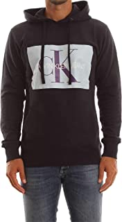 CALVIN KLEIN men's clothing hooded sweatshirt J30J307745 402