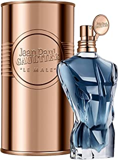JEAN PAUL GAULTIER Le Male Essence De Parfum Eau De Parfum Intense Natural Spray For Men Full Size 125 mL / 4.2 FL.OZ. Factory Sealed. In Metal Jar. Made in Spain.