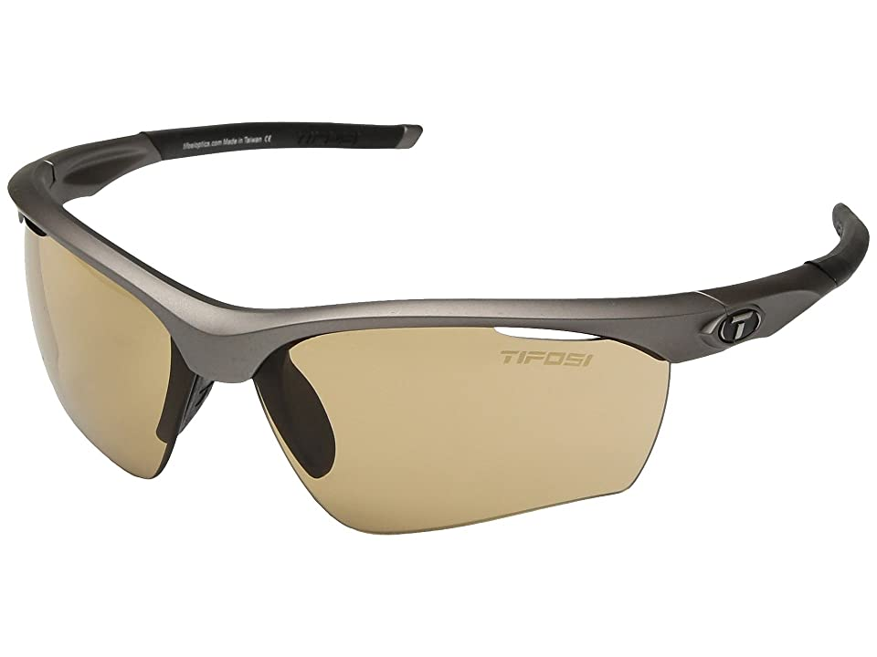 Tifosi Optics Vero (Iron/Brown Fototec Lenses) Athletic Performance Sport Sunglasses