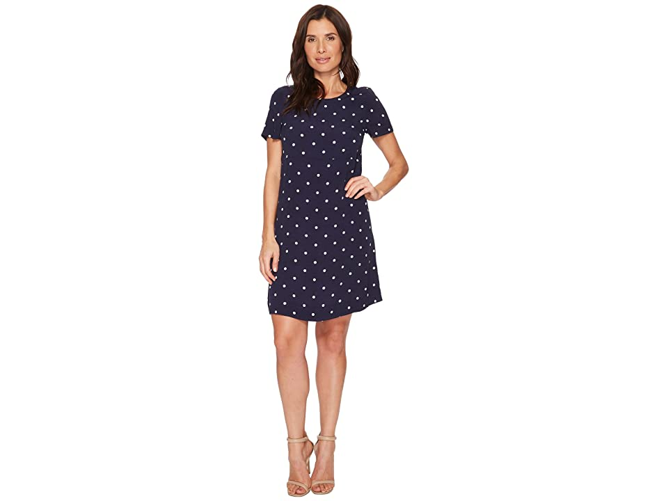Joules Krista Woven Dress (French Navy Elsa Spot) Women